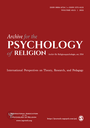 Archiv für Religionspsychologie / Archive for the Psychology of Religion