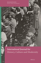 International journal for history, culture and modernity
