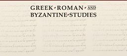 Greek, Roman and Byzantine studies
