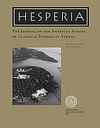 Hesperia : The Journal of the American School of Classical Studies at Athens