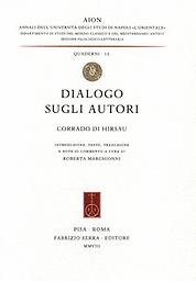 Annali dell'Istituto Universitario Orientale di Napoli. Dipartimento di studi del mondo classico e del Mediterraneo Antico. Sezione filologico-letteraria. Quaderni