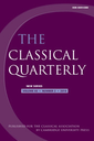 Classical quarterly