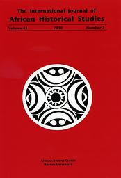 International journal of African historical studies