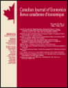 Canadian journal of economics