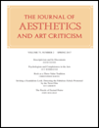 Journal of aesthetics and art criticism