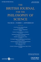 British journal for the philosophy of science