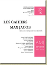 Cahiers Max Jacob