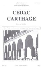 CEDAC Carthage: bulletin