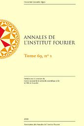 Annales de l'Institut Fourier