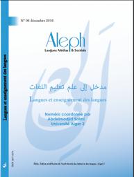 Aleph :  Langues, Médias & sociétés