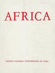 Africa: fouilles, monuments et collections archéologiques en Tunisie