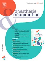 Anesthésie & réanimation  : organe officiel de la Société Française d'Anesthésie et de Réanimation (SFAR)