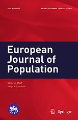 European journal of population = Revue européenne de démographie