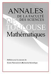 Annales de la Faculté des sciences de Toulouse