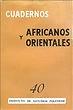 Cuadernos africanos y orientales