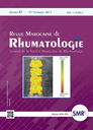 Revue Marocaine de Rhumatologie