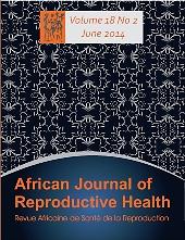African Journal of Reproductive Health=Revue africaine de la santé reproductive