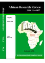 African Research Review : an international multidisciplinary journal