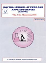Bayero journal of pure and applied sciences