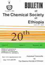 Bulletin of the Chemical society of Ethiopia