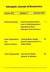 Ethiopian journal of economics