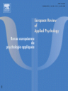 European review of applied psychology  = Revue européenne de psychologie appliquée