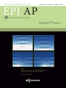 EPJ European Physical Journal: Applied Physic