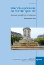 European journal of water quality = Journal européen d'hydrologie