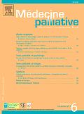 Médecine palliative  : soins continus, accompagnement, éthique