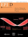 European physical journal  D, Atomic, molecular, optical and plasma physics