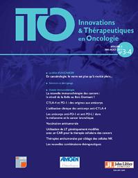 Innovations & thérapeutiques en oncologie