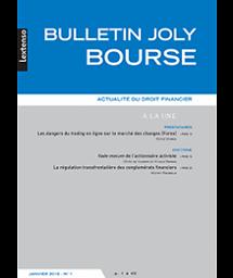Bulletin Joly bourse