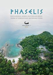 Phaselis: disiplinlerarası akdeniz araştırmaları dergisi
