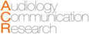 Audiology - Communication Research