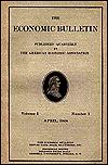 Economic bulletin