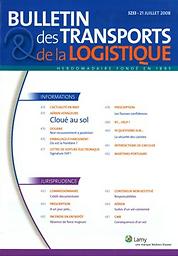 Bulletin des transports et de la logistique