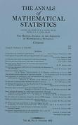 Annals of mathematical statistics