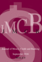 Journal of money, credit and banking