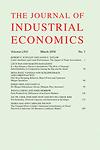 Journal of industrial economics