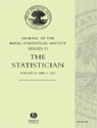 Journal of the Royal Statistical Society  Series D, The statistician