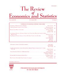 Review of economics and statistics