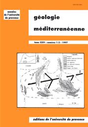 Géologie Méditerranéenne