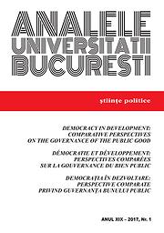 Analele Universitătii Bucuresti. Stiinte politice