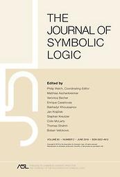 Journal of symbolic logic