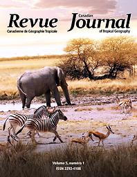 Revue canadienne de géographie tropicale