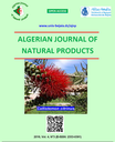 Algerian journal of natural products