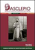 Asclepio  : archivo iberoamericano de historia de la medicina y antropología médica