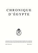 Chronique d'Égypte