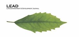Law, environment & development journal