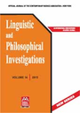 Linguistic and philosophical investigations